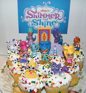 Shimmer And Shine Nick Jr Cake Topper