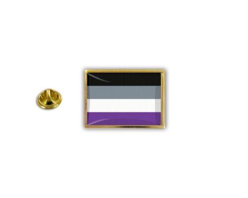 pin flaggenpin flaggen button pins anstecker  rainbow asexualität asexual