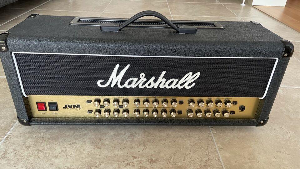 Guitaramplifier, Marshall JVM 410H, 100 W