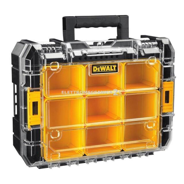 DEWALT DWST1-71194 valigetta t/stak V doppio organizer coperchio trasparente