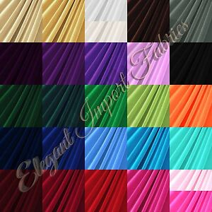 STRETCH-VELVET-FABRIC-COSTUMES-CRAFT-APPAREL-UPHOLSTERS-60-034-W-30-COLOR-BY-YARD