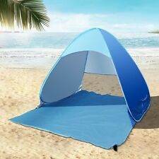 Pop Up Tent 2-3 Person Portable Beach Shelter Sun UV Shade Cabana Canopy C&ing & Pop up Tent 2-3 Person Portable Beach Shelter Sun UV Shade Cabana ...
