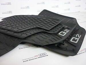 Audi q2 des tapis de caoutchouc sol en allwetterfussmatten q2 ebay - Tapis de caoutchouc a vendre ...