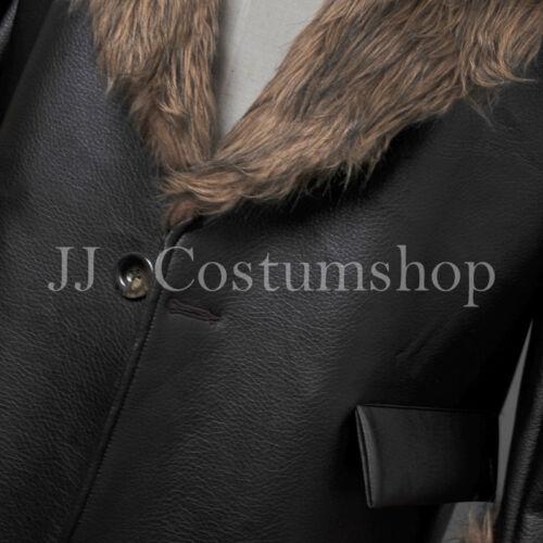 Arkham Origins The Penguin Pleather Fur Collar Costume /<Custom made/> Batman