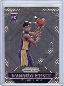 D'Angelo Russell 2015-16 Panini Prizm RC Rookie Card Lakers Timberwolves B #322