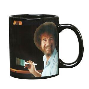 Bob-Ross-Calore-Modifica-Mug-ceramica-11-OZ-vedi-pittura-colore-con-Liquidi-Caldi