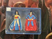 DC Comics Batgirl and Wonder Woman Salt and Pepper Shakers-Brand New