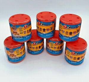 Paw-Patrol-Mashems-Series-7-Blind-Capsules-New-Sealed-Lot-of-7-Mighty-Pups