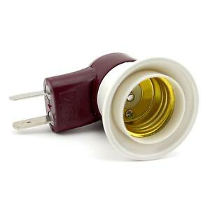 plug adapter converter switch screw socket light lamp bulb base holder. Black Bedroom Furniture Sets. Home Design Ideas