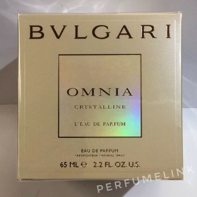BVLGARI OMNIA CRYSTALLINE Eau De Parfum 65ml Spray Women's Perfume(100% Genuine