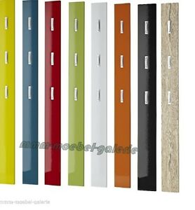 Wandpaneel hochglanz garderobe paneel wandgarderobe for Paneel garderobe