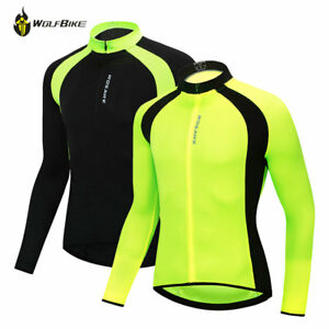 5ce5be351 Men s Cycling Long-Sleeved Jersey Pro Bike Bicycle Coat Riding Quick ...