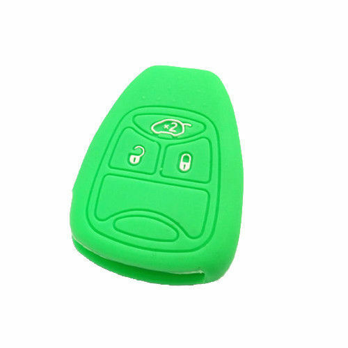 Accessory Colorful Silicon Fob Holder Remote Key Cover Case Shell Fit For JEEP