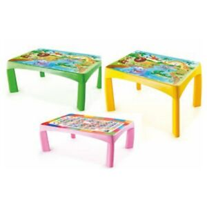 Image Is Loading Childrens Play Table Plastic Kids Table New
