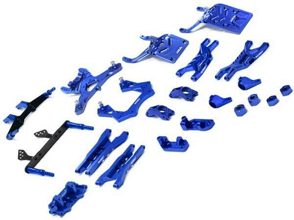 Integy Aluminum Billet T3 Complete Suspension Kit for Traxxas 1 10 Stampede 2WD