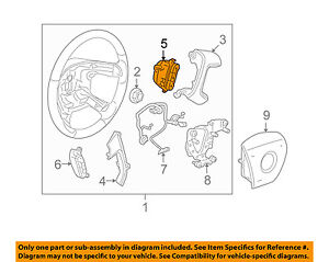 GM-OEM-Steering-Wheel-Audio-Stereo-Remote-Switch-Button-25851952