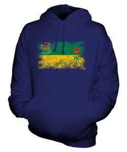 Consumato Bandiera Regalo Vestiti Idea Felpa Effetto Saskatchewan Maglia Unisex qz1Uwwx