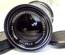 Isco Gottingen Berolina-Westromat lens 135mm f3.5 adapted to CANON EOS cameras