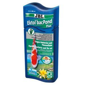 JBL Ektol bac Pond Plus 500 ml - Teich Heilmittel Fisch Flossenfäule Geschwüre