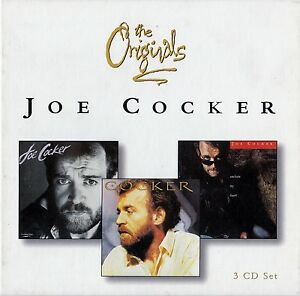 JOE-COCKER-THE-ORIGINALS-3-CD-SET-TOP-ZUSTAND