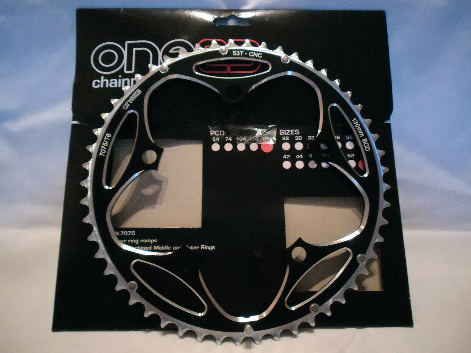 BIKE BICYCLE CYCLE ALLOY CHAINRING  53T  all in high quality and low price