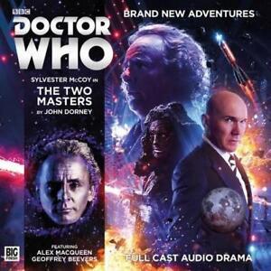 The-Due-Masters-Doctor-Who-Principale-Gamma-di-Dorney-John-Audio-CD-Libro