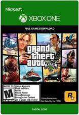 NEW Grand Theft Auto V GTA V Game Download Code (XBOX ONE)