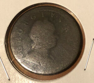 1724-Great-Britain-King-George-I-1-2-Penny-Collectible-Coin-KM-755
