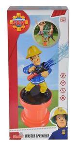 Simba 109252006 - Feuerwehrmann Sam - Gartensprinkle<wbr/>r / Wasser Sprinkler - Neu