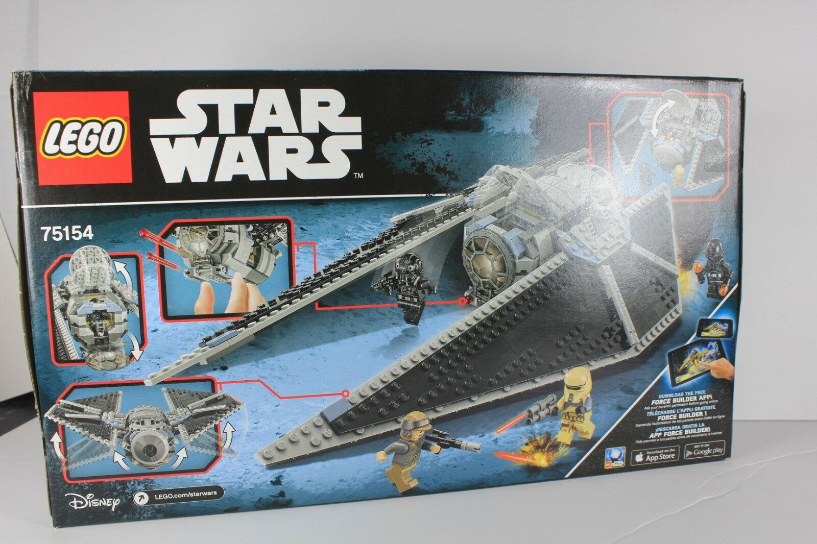 Lego Star Wars Striker 75154 Sealed Tie New Nnkkjo5214 Lego