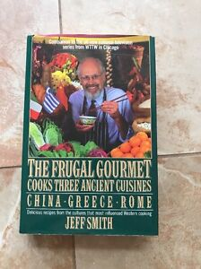 Frugal Gourmet Cookbook Ancient Cuisines Recipes China Greece Rome - Cuisines smith