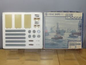 TRI-ANG-MINIC-NAVE-modello-No-M904-034-FLEET-ancoraggio-Set-034-VN-Nuovo-di-zecca-con-scatola