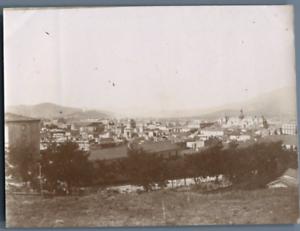 Algerie-Bone-Vue-generale-de-la-ville-Vintage-citrate-print-Photo-J