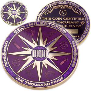 1000-finds-geo-milestones-geocoin-et-pin-set-prix-de-votre-geocache-succes