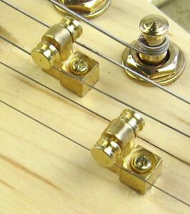 SET Roller Trees in GOLD Finish  A Must For Necks with No Back Angle Headstock - Mount Vernon, Illinois, United States - SET Roller Trees in GOLD Finish  A Must For Necks with No Back Angle Headstock - Mount Vernon, Illinois, United States