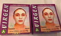 (2) Boxes Virgen Mascarilla Facial De Arcilla, Facial Mask Of Clay 2.64 Oz.