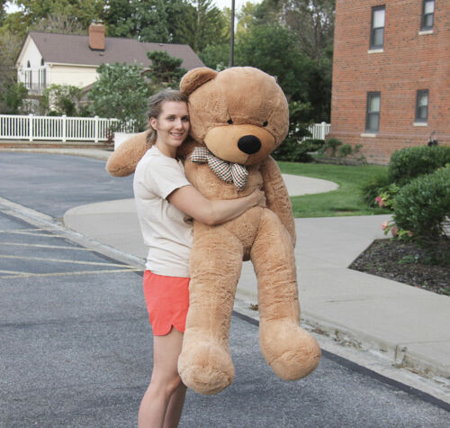 "Joyfay® 63/"" 160cm 5 ft Giant Teddy Bear Stuffed Plush Toy Valentine Gift"