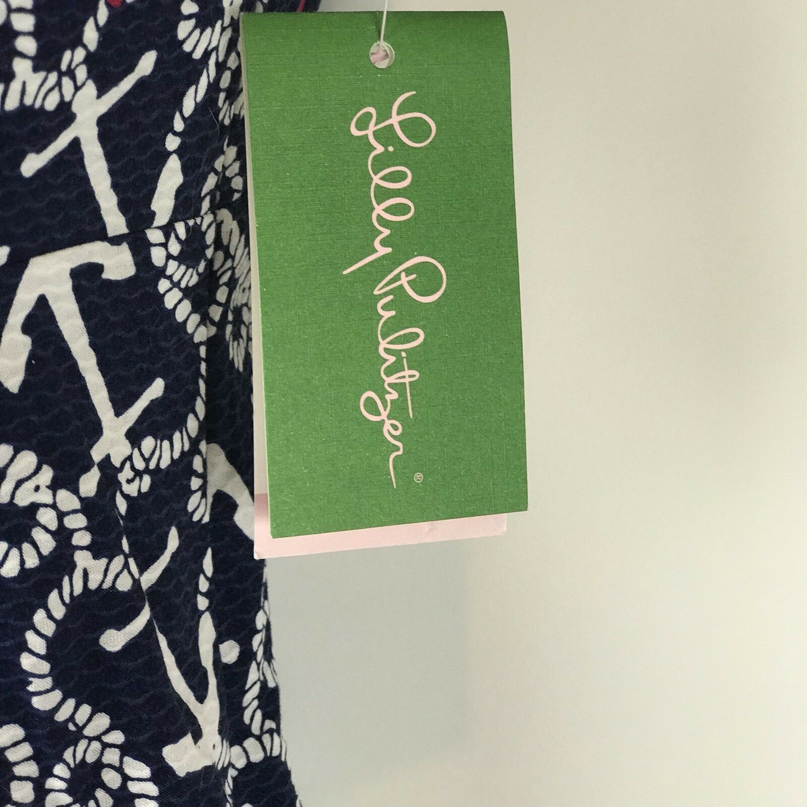 LILLY PULITZER NWT  178 Strapless Clyde Dress Dress Dress Ahoy There Nautical navy Anchors 4 fabcb2