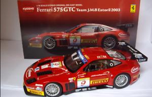 Mejor precio Ferrari 575 GTC Estoril  2003 Team JMB 08393B 1 1 1 18 Kyosho  al precio mas bajo