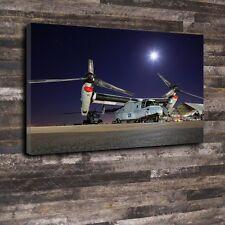 "Osprey Printed Box Canvas A1.30""x20""-Deep 30mm Frame Aircraft USA Airplane"