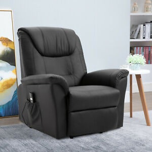 Electric-Power-Lift-Recliner-Chair-Stand-Assist-w-Remote-Control