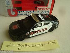 NEW DOGDE CHARGER 2006 POLICE USA  NEUF 1/43° B BURAGO EN BOITE