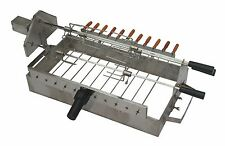 Stainless Steel Cypriot Grill Top Rotisserie for your BBQ