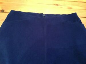 Impartial Vintage 1990 S Bleu Femmes Velor Velours Pantalon Taille 12 New Look Bleu Royal-afficher Le Titre D'origine