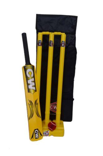 Master Blaster Cricket Set Children Beach Garden Park Game Set Stumps Bails Bag