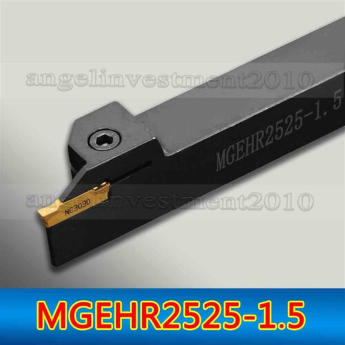 MGEHR2525-1.5 25×150 mm CNC Grooving Tool holder for MGMN150 Inserts