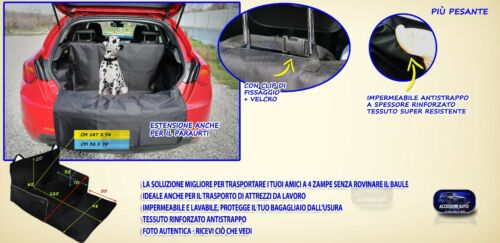 Telo bagagliaio Grande Punto Fiat vasca baule portabagagli cane auto teli pacchi