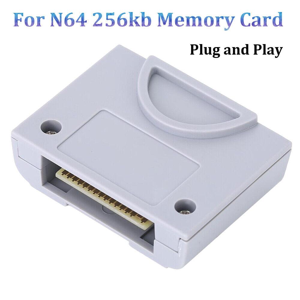 256KB Gamepad Memory Card Jumper Pak For Nintend 64 N64 Game Console Controller