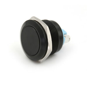 12mm Waterproof Momentary Round Stainless Steel Metal Push Button Switch JH