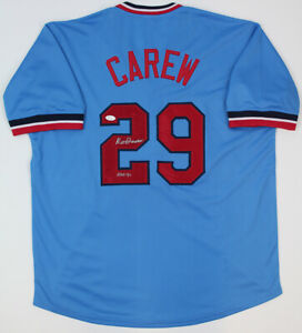 Rod-Carew-Signed-Minnesota-Twins-Blue-Jersey-JSA-COA